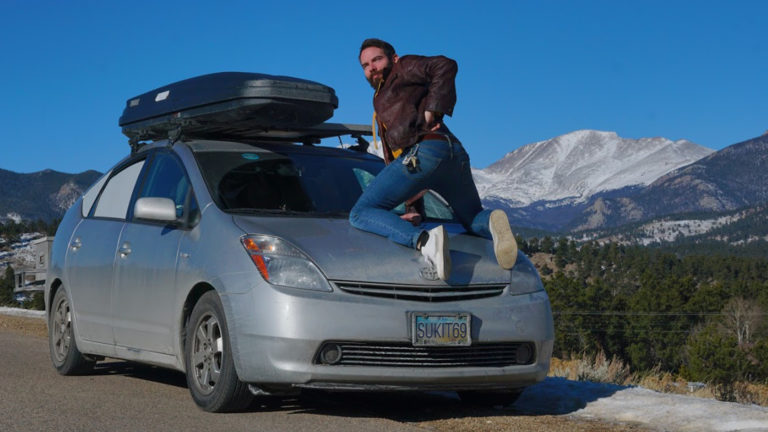 Live Easy – Sleeping in a Prius, Living in the World